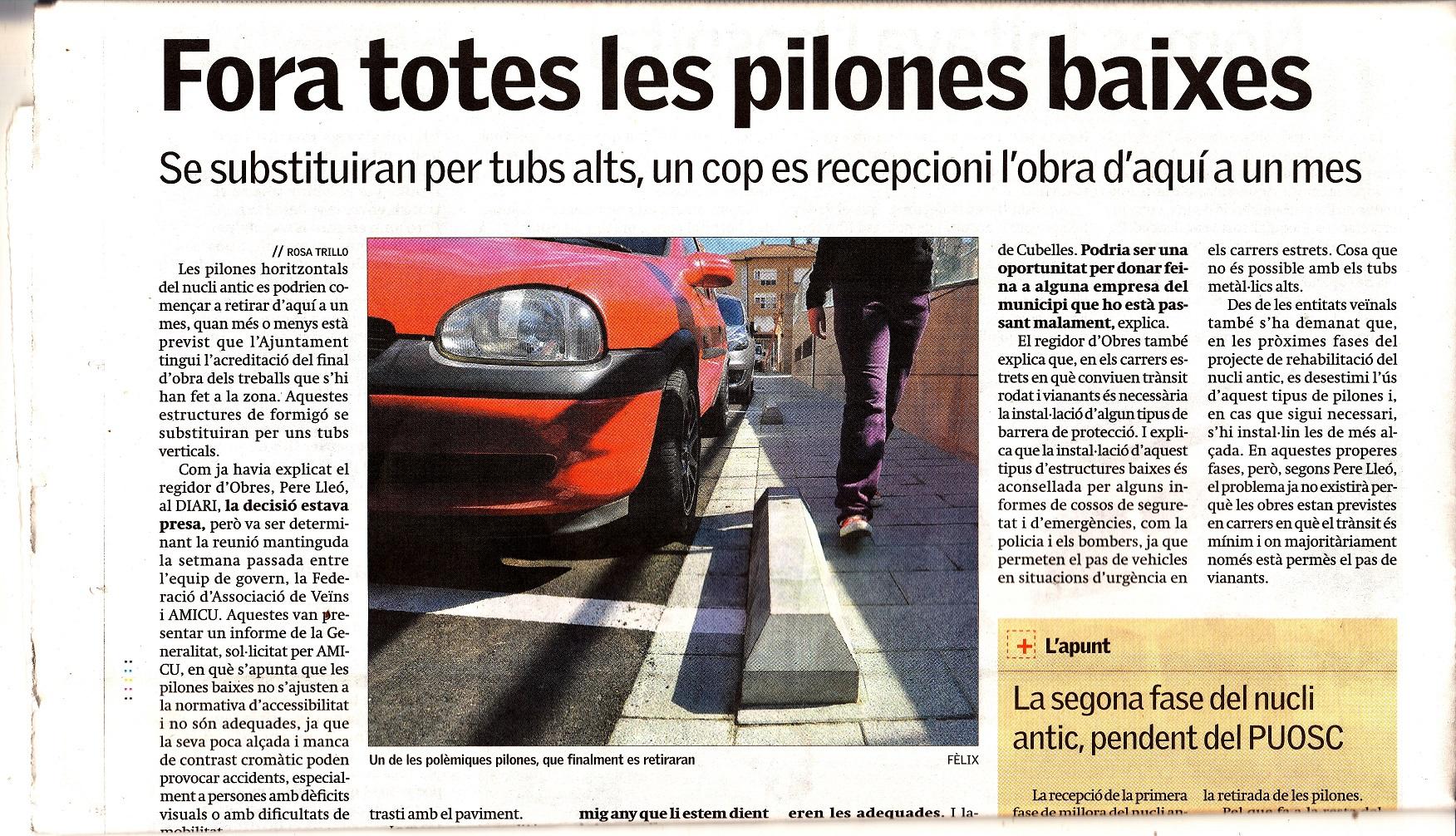 DIARI DE VILANOVA, FORA TOTES LES PILONES 05-04-2013-R-1
