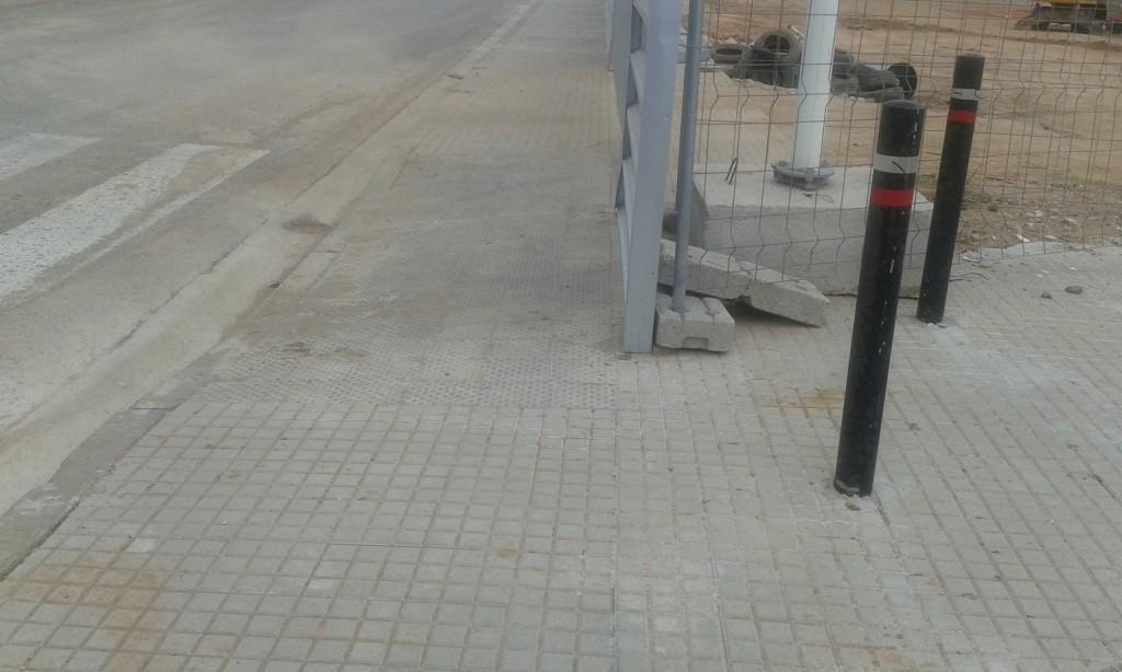 Invasión de espacio público