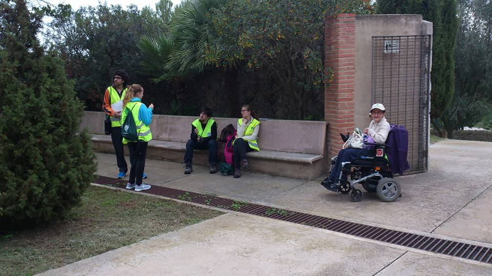 Las sillas de ruedas no pueden entrar en La Pleta