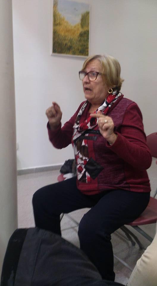 Intervención de la Sra. Mª Angeles Abejaro