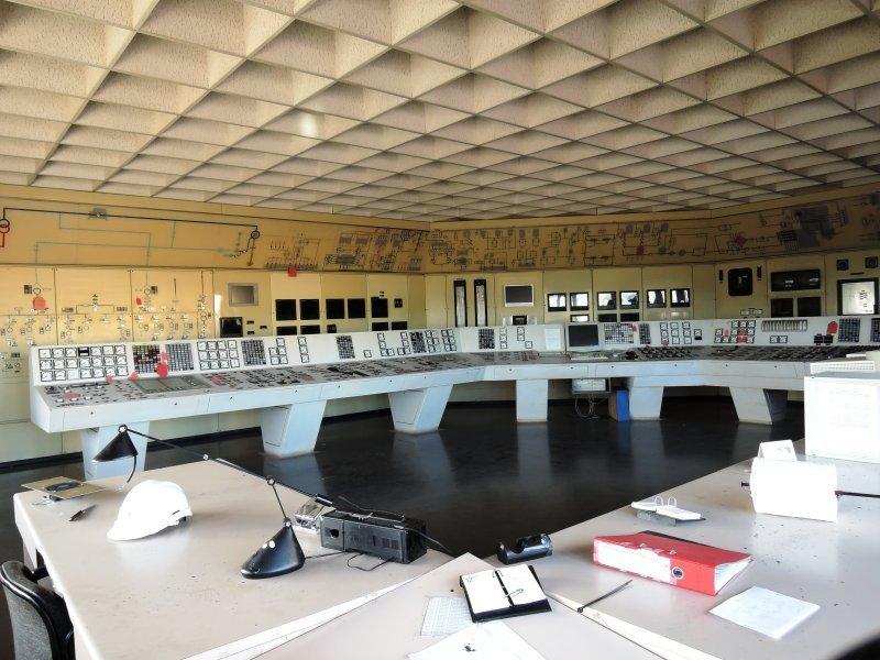 La sala de máquinas de la histórica central podrá verse tal como era. Foto: Endesa