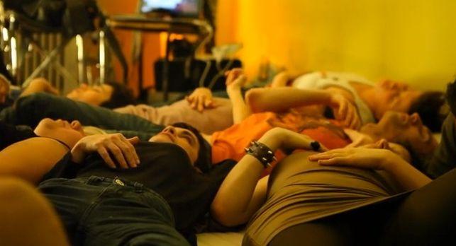 """Una de las escenas de """"Yes, we fuck!"""", un documental en preparación sobre sexualidad y discapacidad"""