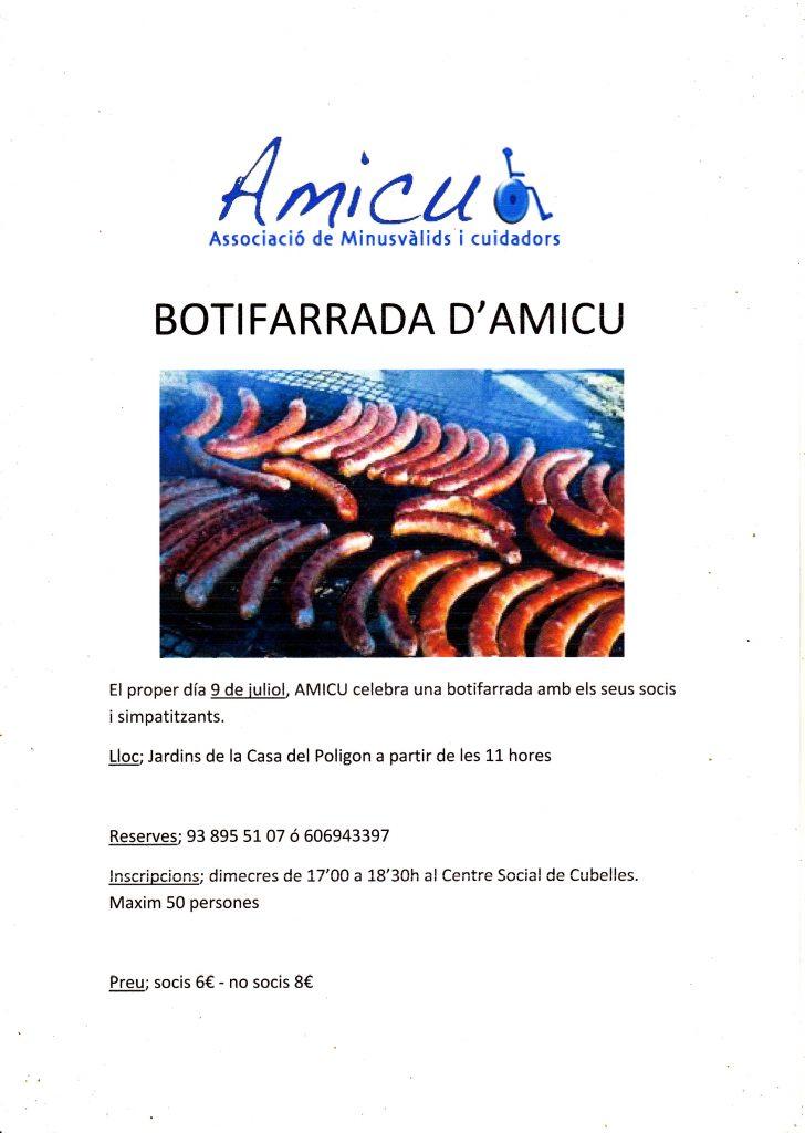 BOTIFARRADA DE AMICU 2016