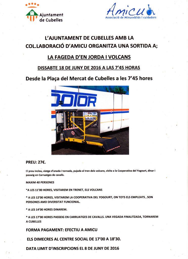 EXCURSIÓ D'AMICU A FAGEDA D'EN JORDA 18-06-2016